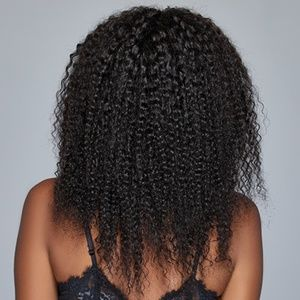 "14"" Inch Afro Kinky Virgin Remy Human Hair"